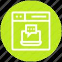 browser, laptop, message, page, web, webpage, website