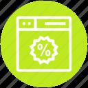 browser, page, percentage, tag, web, webpage, website