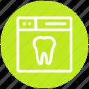 browser, dental, page, teeth, web, webpage, website