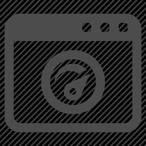 gauge, site, speedometer, web, web page, webpage, website icon