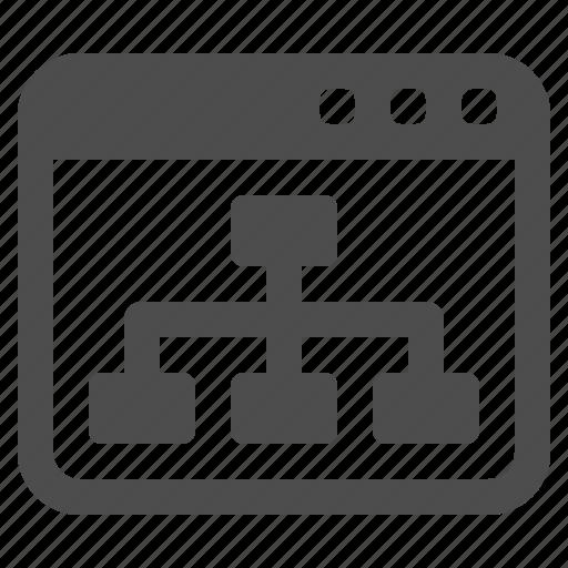 web page, webpage icon