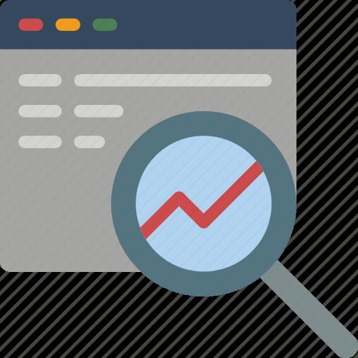 analyse, browser, performance, seo, web, web page, web performance icon