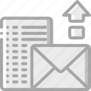 mail, performance, seo, upload, web, web page, web performance icon