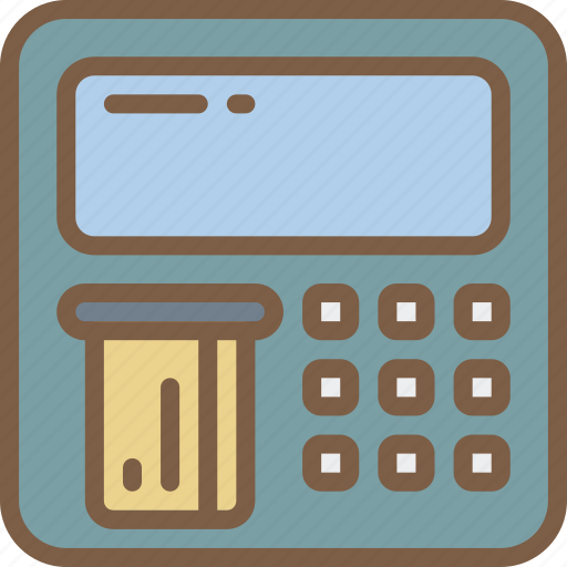 atm, banking, finance, money icon