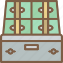 banking, box, deposit, finance, money icon