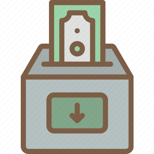 Banking, deposit, finance, money icon - Download on Iconfinder