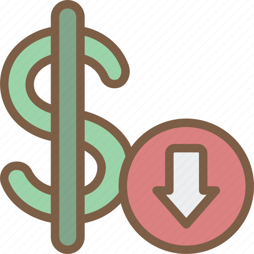 banking, dollar, finance, money, rate icon