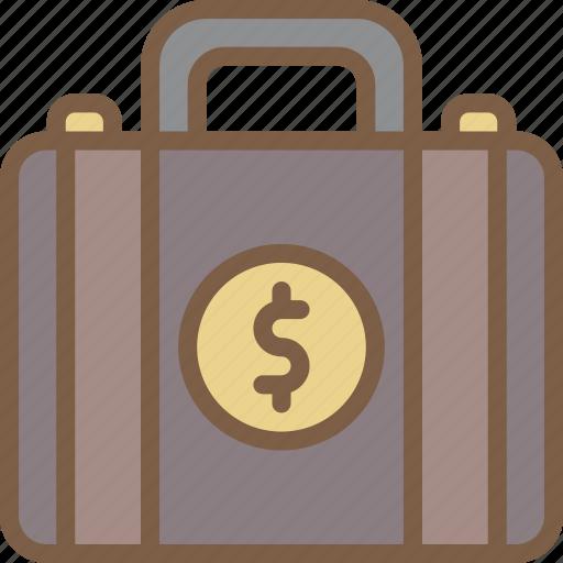 Banking, briefcase, finance, money icon - Download on Iconfinder