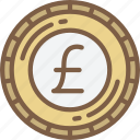 banking, coin, finance, money, pound