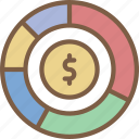 banking, chart, financail, finance, money icon