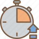 performance, seo, time, upload, web, web page, web performance icon