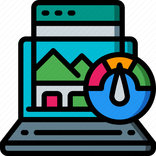 page, performance, seo, speed, web, web page, web performance icon