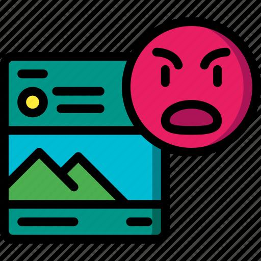 Dislike, image, performance, seo, web, web page, web performance icon - Download on Iconfinder