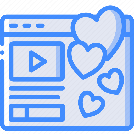 Likes, performance, seo, video, web, web page, web performance icon - Download on Iconfinder