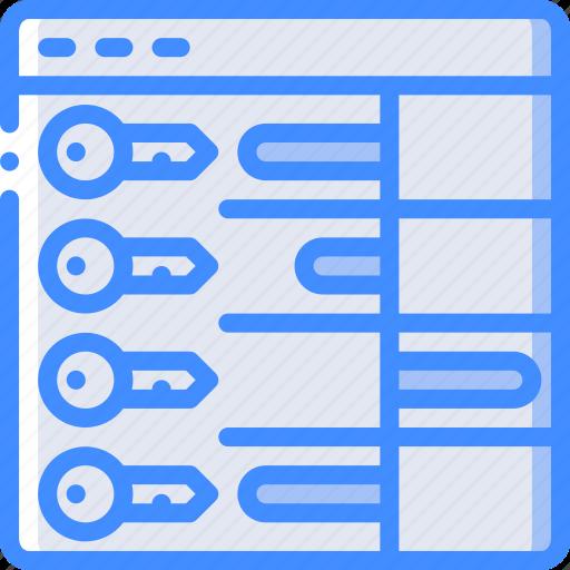 keyword, performance, seo, web, web page, web performance icon