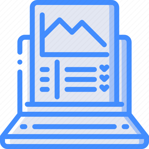 Analysis, laptop, performance, seo, web, web page, web performance icon - Download on Iconfinder