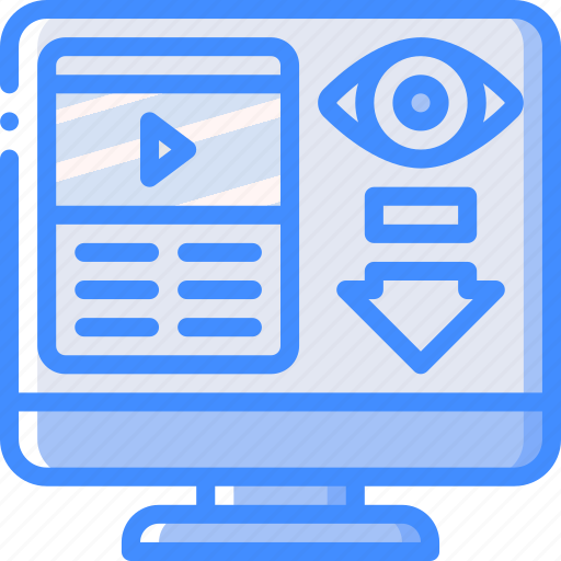 Low, performance, seo, views, web, web page, web performance icon - Download on Iconfinder