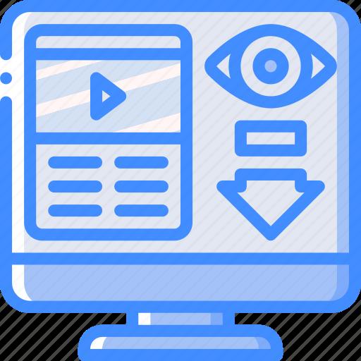 low, performance, seo, views, web, web page, web performance icon