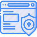 browser, performance, secure, seo, web, web page, web performance icon