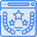 award, browser, performance, seo, web, web page, web performance icon