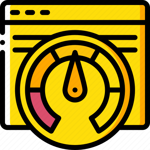 browser, performance, seo, speed, web, web page, web performance icon