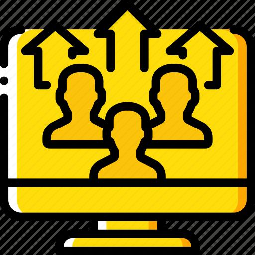 performance, seo, upload, user, web, web page, web performance icon