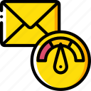 mail, performance, seo, speed, web, web page, web performance icon