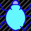 bacteria, clean, disease, microbe, spider, virus, web icon