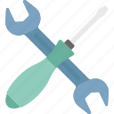 maintenance, services, settings, technical support, tools icon