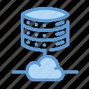 cloud, hosting, server