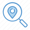 finding, search, location, address, gps
