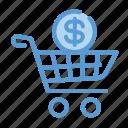 earnings, money, profit, shopping