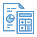 calculate, business, estimate, report