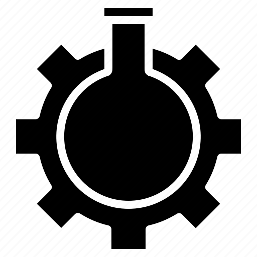glass, optimization, preferences, seo, settings, tube, web icon