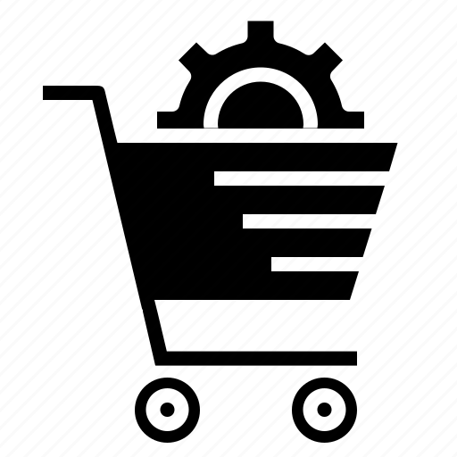cart, online, services, settings, shop, shopping, solution icon