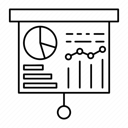 board, chart, graph, statistic icon