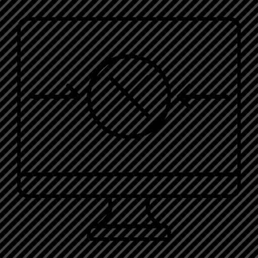 cross, delete, display, screen icon