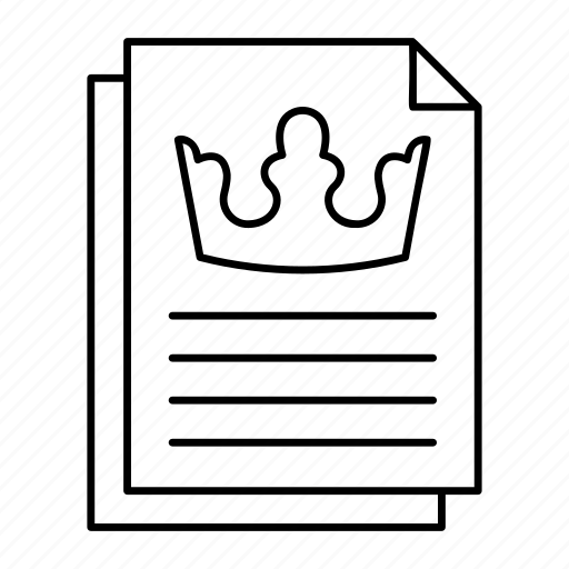 document, files, records, sheet icon