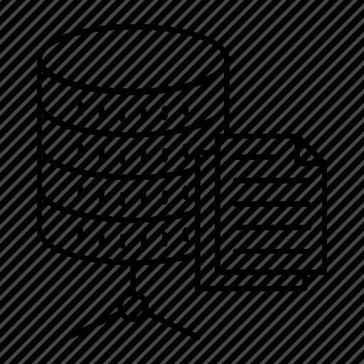 document, files, records, server icon