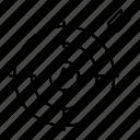 achievement, dartboard, goal, target icon