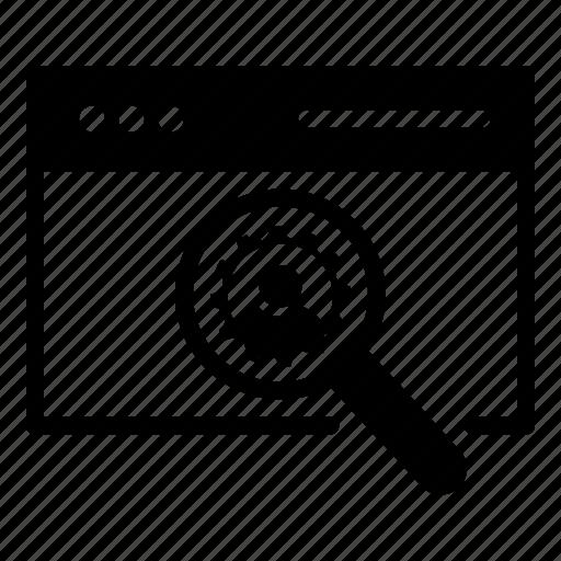 search, seo, user, web icon