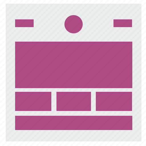 markup, modern, page, site, web icon
