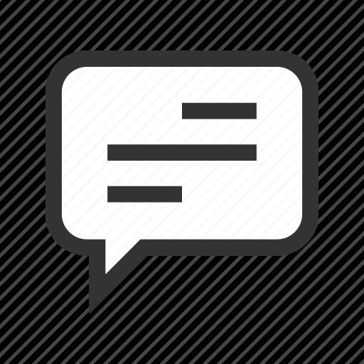 box, chat, message, office, orange, speak, talk icon