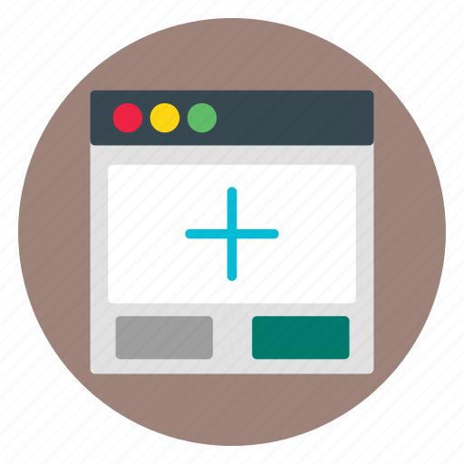add, business, template, website icon