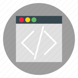 business, code, html, template, website icon