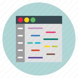 business, collection, data, template, website icon