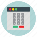 business, dial, pad, template, website icon
