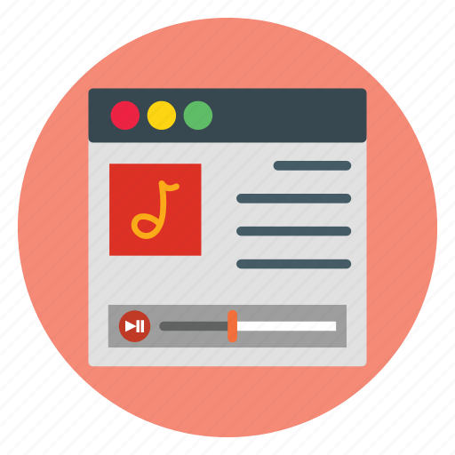 business, music, player, template, website icon
