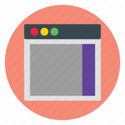 design, interface, template, user, website icon