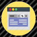 design, template, website, windows